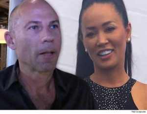 Recently divorced Avenatti and his former spouse. Photo credit to TMZ.