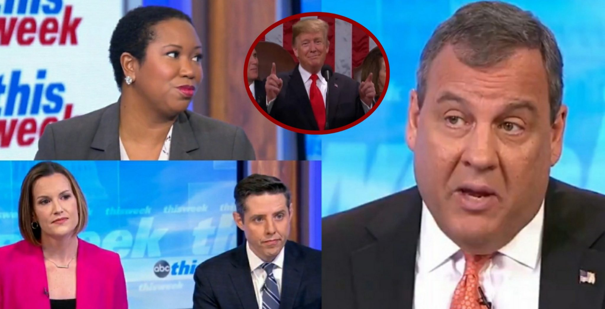 Chris Christie Discloses To ABC's Panel How Impeachment Is Already Hurting Democrats For 2020